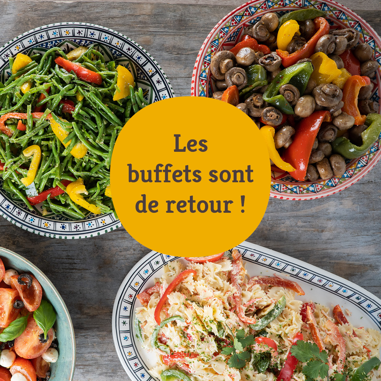 Buffet des entrees